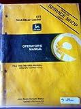 John Deere 675 Skid Steer Loader Operators Manual