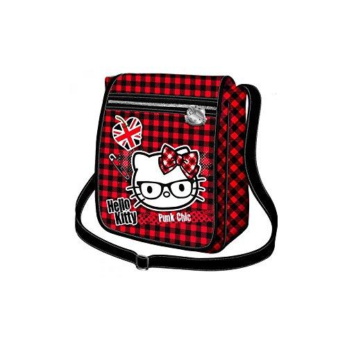 Karactermania Hello Kitty Borsa Messenger, 25 cm, Viola