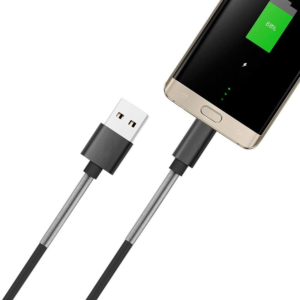 Kindle Samsung Galaxy Nexus CAOQAO Cable De Conector LightningA USB Sony Motorola Y M/áS 2 Pack-1M//2M Compatible con Android