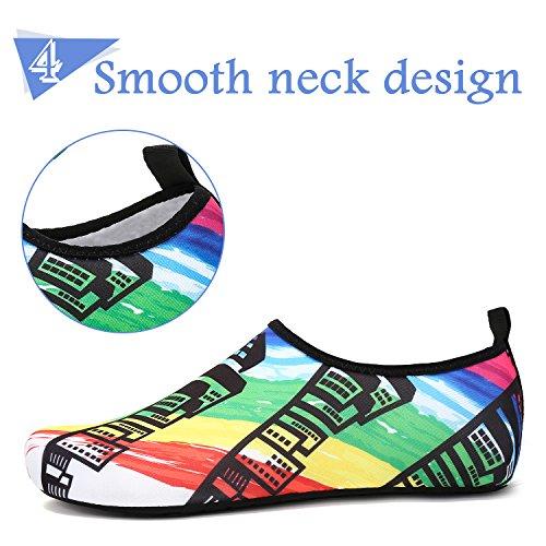 Aqua Pool for Building Swim Beach Shoes Water Socks Dry Surf Diving Quick Womens Mens Yoga Barefoot Mishansha 1T4w0Pqx