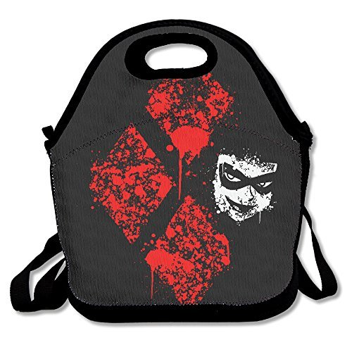 Fox Customzied Harley Quinn Multifunction Lunch Tote Bag With Adjustable Straps