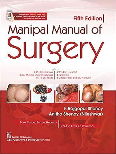 Manipal Manual of Surgery, Fifth Edition - Original PDF