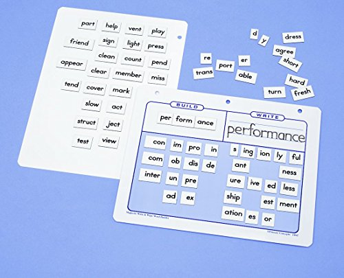 Primary Concepts AA1312 Build-a-Bigger Word Magnetic Combo by Primary Concepts, (Image #2)