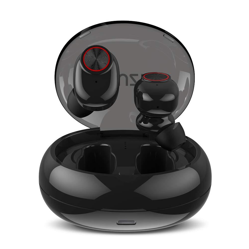 Oreillette Bluetooth 4.2 sans Fil, Muzili 25 h Écouteurs Bluetooth Sport  Lecture 500 mAh Boîtier bbcceec83a0d