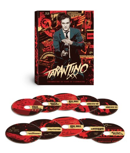Tarantino XX: 8-Film Collection (Reservoir Dogs / True Romance / Pulp Fiction / Jackie Brown / Kill Bill: Vol. 1 / Kill Bill: Vol. 2 / Death Proof / Inglourious Basterds) [Blu-ray] by Lionsgate Miramax