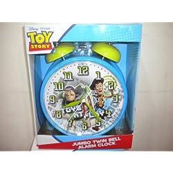 Disney Toy Story Jumbo Twin Bell Alarm Clock
