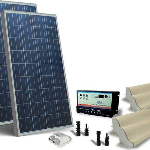 Kit solar Wohnmobil 260W 12V base Photovoltaik, Regler, Zubehör