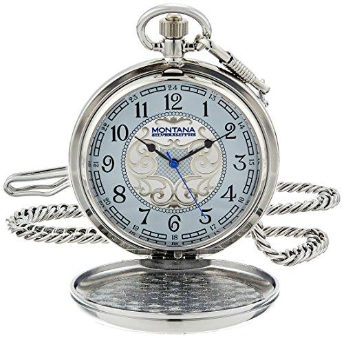 Montana Silversmiths WCHP41NF Montana Time Analog Display...