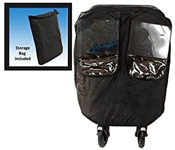Comfy Baby Universial Deluxe Twin Stroller Weather Protector