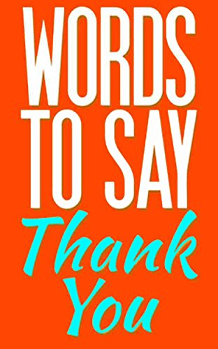 words to say thank you kindle edition by gail hamilton reference