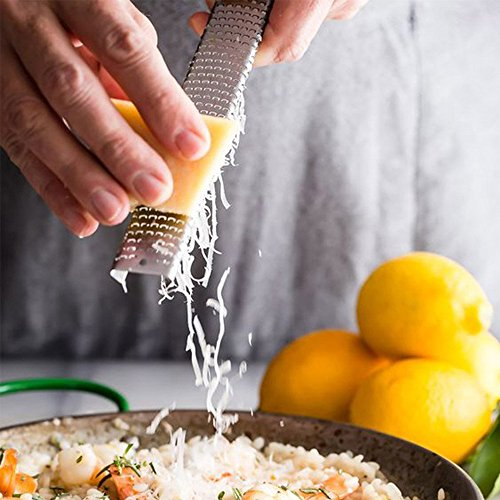 Easykan Kitchen Stainless Steel Vegetable Cutter Slicer Grater Lemon Fruit Peeler Zester Cheese Gadgets For The Spiralizer Cooking Tools by COFFLED (Image #5)