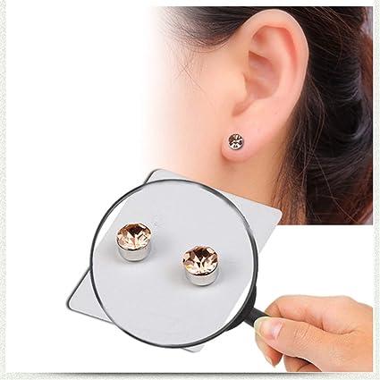el más nuevo 2bb6c c9f42 Personality Imanes de salud Pendientes sin orejas Magnético ...