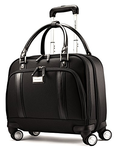 Samsonite Luggage Women's Spinner Mobile Office (One Size, Black / Chrome) by Samsonite