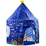 lulufan Kid's play tent indoor & outdoor Foldable playhouse castle Ocean world Pop up tent for boy & girl with carry-bag