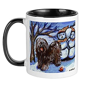 CafePress TIBETAN TERRIER 4 Seasons Mug Unique Coffee Mug, Coffee Cup 31