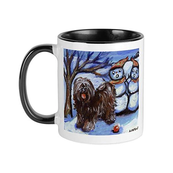 CafePress TIBETAN TERRIER 4 Seasons Mug Unique Coffee Mug, Coffee Cup 1