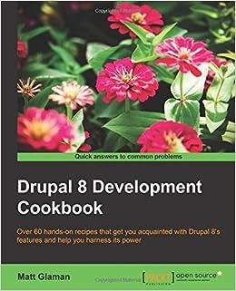 Book Drupal 8 Development Cookbook