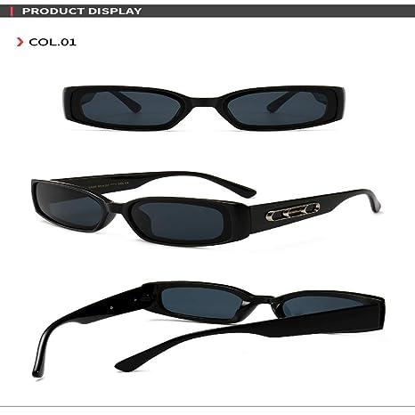 Yangjing-hl Año Gafas de Sol de Baja Moda Gafas de Sol de ...