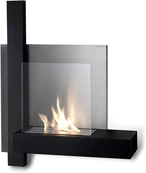 Stones Bioethanol Wall Fireplace With Bio Ethanol Fireplace Metal