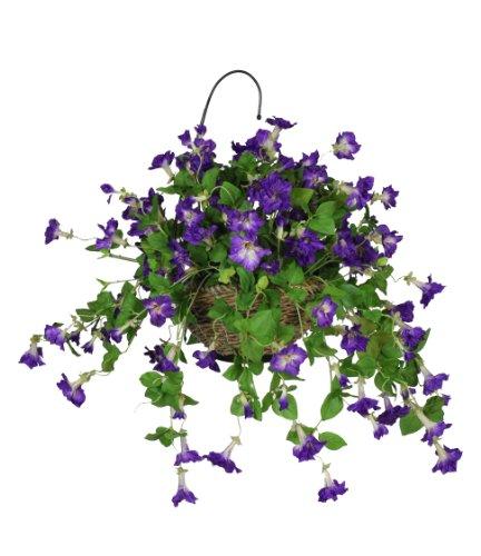Artificial-Petunia-Hanging-Basket
