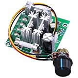 Yeeco High Efficiency Dc Electric Motor Control Motor Speed Regulation PLC Governor Speed Governor 6v-90v 15a Pump Pwm Continuously Variable Speed Controller Stepless 10% -100%