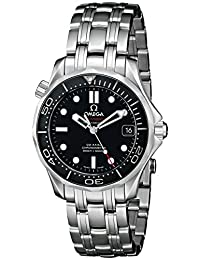 Omega Unisex 212.30.36.20.01.002 Seamaster Diver 300m Co-Axial Automatic 36.25mm Analog Display Swiss Automatic Silver Watch