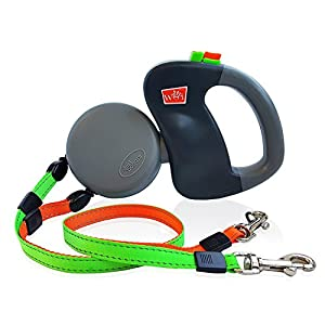 Dual Doggie Pet Leash - Up to 50 Lbs Per Dog and Zero Tangle - Walk Two Dogs At Once 22