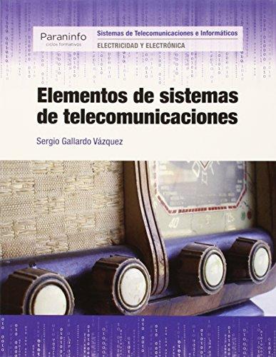 Descargar Libro Elementos De Sistemas De Telecomunicaciones Sergio Gallardo VÁzquez