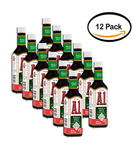 PACK OF 12 - A.1. Bold & Spicy Sauce Tabasco, 10 ()