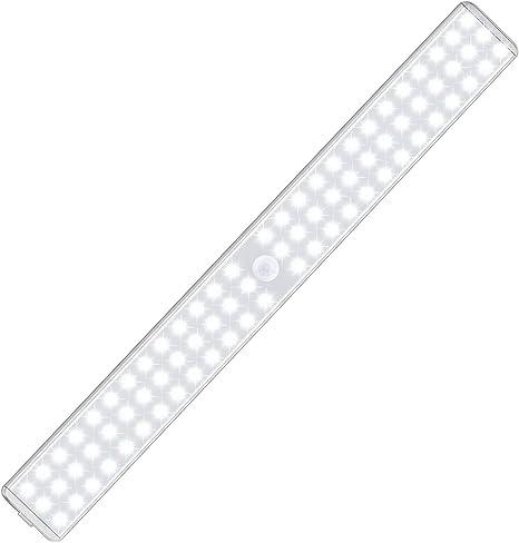 Kleiderschrank Licht mit super hellen 48LED 2 Modi Sensor Schrankleuchten /überall f/ür Schrank K/üche Treppe Kleiderschrank Camping Keller Bewegungsmelder Unterschrankbeleuchtung Innenbereich