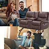 Recliner Sofa Love Seat Reclining Couch Sofa