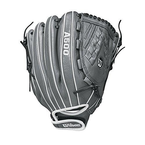 Wilson 2018 Siren Gloves - Right Hand Throw Graphite/Whit...