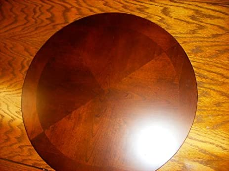 Superb 2517 Dark Cherry Lazy Susan By Crown Mark 22u0027 Diameter