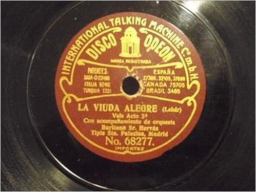 Antiguo Disco Pizarra - Old Disc Slate: Srta PALACIOS y Sr.HERVÁS ...