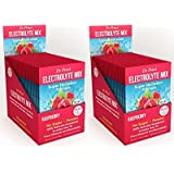 Electrolyte Mix: Super Hydration Formula + Trace Minerals | Raspberry Flavor (30 Powder Packets) Drink Mix | Dr. Price's…