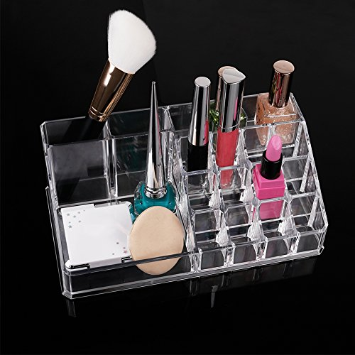 DUcare Acrylic MakeupCosmeticOrganizerStorageDrawersDisplayBoxesCase Great for Lipstic