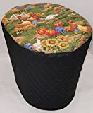 Cheap Roosters Food Processor Cover (Black, Large)