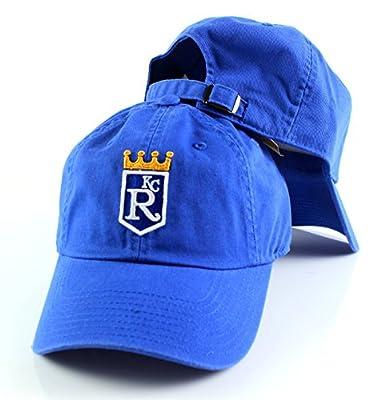 Kansas City Royals MLB American Needle Ballpark Slouch Cotton Twill Adjustable Cap