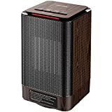 Homasy Portable Space Heater, 950W Mini Personal Heater Oscillating with 2 Seconds Heat -up, Auto Shut Off Protection, 3 Adjustable Modes Perfect for Office, Indoor, Bedroom, Desk
