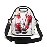 Insulated Neoprene Lunch Bag Removable Shoulder Strap Reusable - Best Reviews Guide