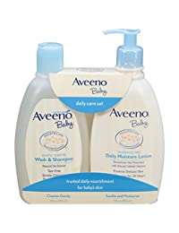 Aveeno Baby Daily Care Set For Delicate Skin And Hair, 2 Items BOBEBE Online Baby Store From New York to Miami and Los Angeles