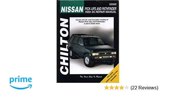 Nissan pick ups and pathfinder 1989 95 chilton total car care nissan pick ups and pathfinder 1989 95 chilton total car care series manuals chilton 0035675081450 amazon books fandeluxe Choice Image