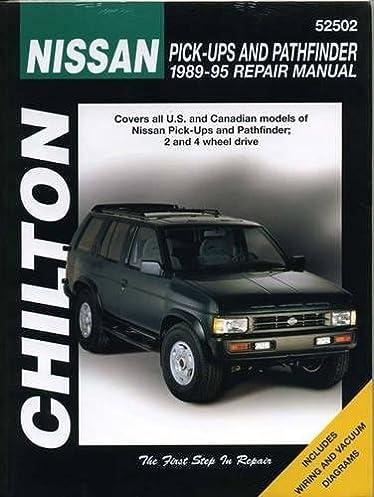 nissan pick ups and pathfinder 1989 95 chilton total car care rh amazon com 1995 Pathfinder Brake Light Nissan Pathfinder Lifted
