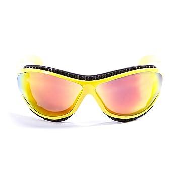 Ocean Sunglasses Tierra de Fuego - Gafas de Sol polarizadas - Montura : Amarillo Brillante-