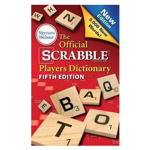 Merriam Webster 5th Edition Scrabble Dictionary ()
