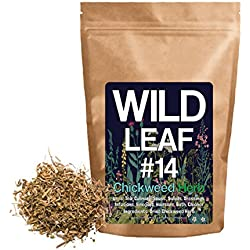 Dried Chickweed Herbal Leaf For Cooking, Recipes, Infusions, Cosmetics, Hair care, Soap Making, 100% Natural