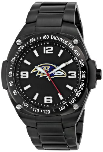 Baltimore Ravens Fan Series Watch - Game Time Men's NFL-GLA-BAL