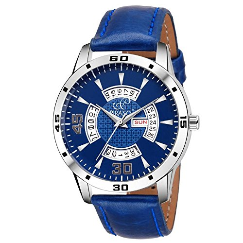 PIRASO Times - Quartz Day and Date Series Watch - for Men (B07D6SG698) Amazon Price History, Amazon Price Tracker