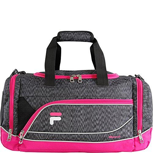 Fila Sprinter Small Duffel Sports Gym Bag, Static Pink, One Size