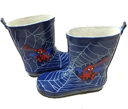 Pictures of Spider-Man Boy Kids Wellington Boots Wellies 3